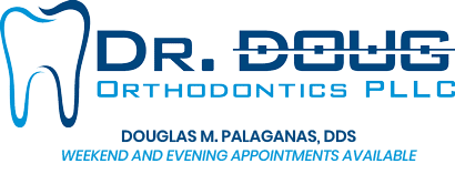 Dr Doug Orhtodontics Logo Evening and Weekend Appointments Dr. Doug Orthodontics PLLC in Rockville Centre NY